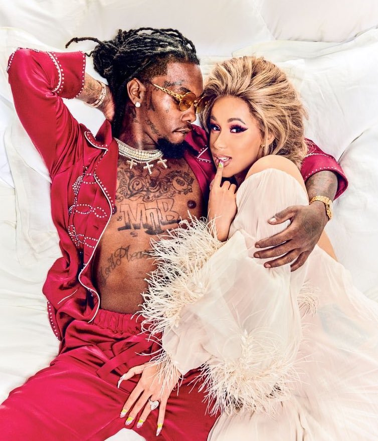 Cardi B Says Offset Picked Their Baby S Almost Tricky: Cardi B Denies Reconciling With Offset